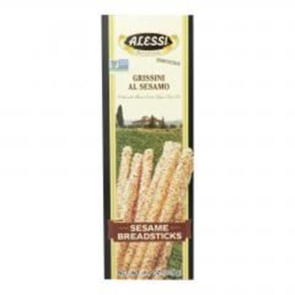 Picture of Alessi - Breadsticks - Sesame - Case of 12 - 4.4 oz.