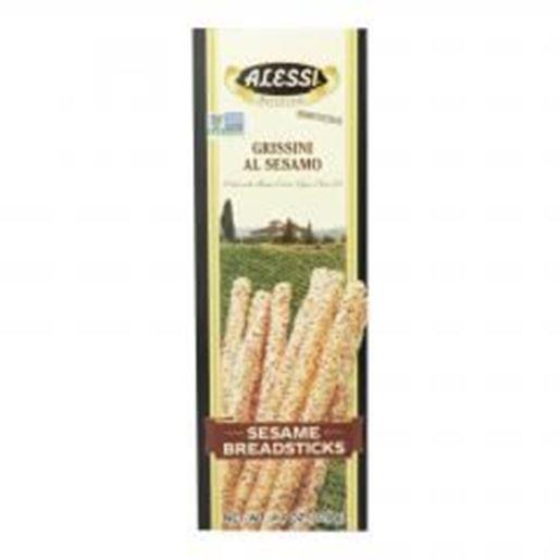 Picture of Alessi - Breadsticks - Sesame - Case of 12 - 4.4 oz.