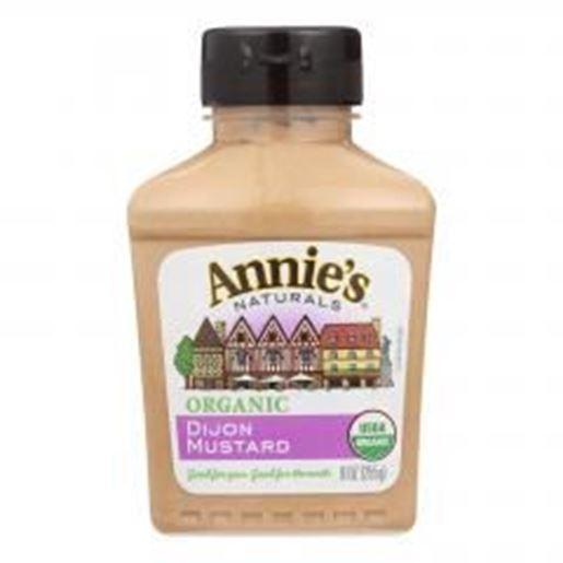 Picture of Annie's Naturals Organic Dijon Mustard - Case of 12 - 9 oz.