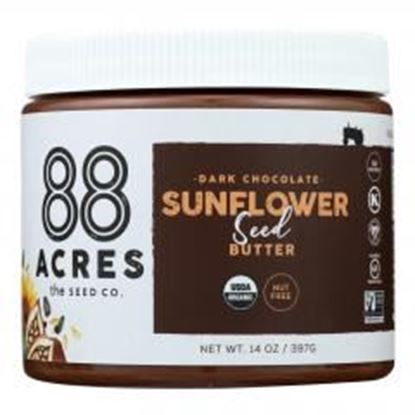 图片 88 Acres - Seed Butter - Chocolate Sunflower - Case of 6 - 14 oz.