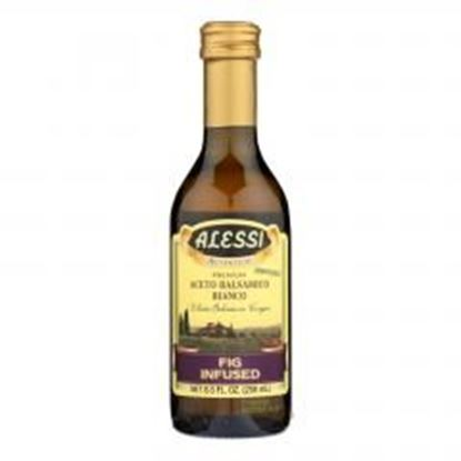 图片 Alessi - Fig Infused Vinegar - White Balsamic - Case of 6 - 8.5 FL oz.