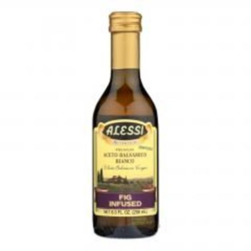 Picture of Alessi - Fig Infused Vinegar - White Balsamic - Case of 6 - 8.5 FL oz.