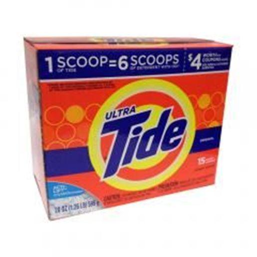Picture of Tide Powder Ultra Original Scent 20 oz Case of 15: Case of 15