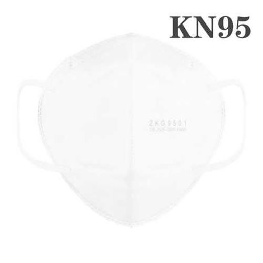 Picture of KN95 Face Masks PM2.5 Dust Anti-fog Anti-virus Gas Filter