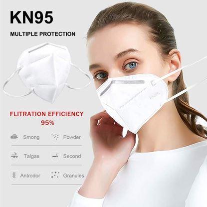 图片 KN95 Face Mask Anti-Virus 95% bacteria filtration efficiency.