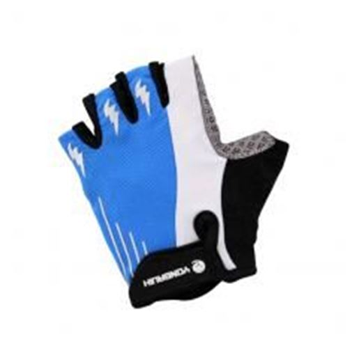 Picture of [BLUE] Yongruih Men's Half Finger Glove Men's Cycling Motocycling Gloves