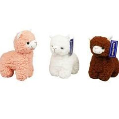 "9"" Alpaca Plush Toy - Assorted Colors Case Pack 60"