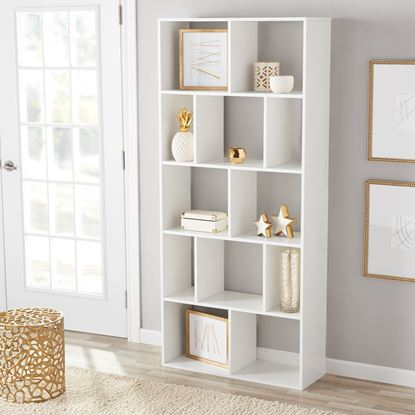 Foto de Mainstays 12 Cube Bookcase, Multiple Colors