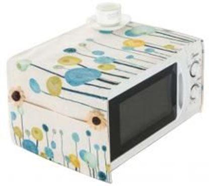 图片 [B] Microwave Oven Dustproof Cover Dust Cover Cloth with Pockets