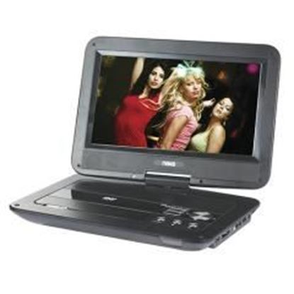 """Picture of 10"""" Swivel Screen Portable DVD Player w/USB/SD/MMC Inputs"""