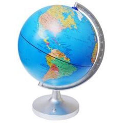 "Picture of 11"" Dual-Cartography LED Illuminated Globe"