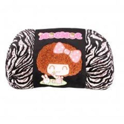 Picture of (Mocmoc) Memory Cotton Waist Pillow/lumbar Support/Back Cushion,Zebra-stripe