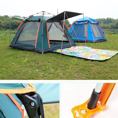 Picture of Outdoor Automatic Tents 4 Person Family Tent Picnic Traveling Camping Tent Outdoor Rainproof Windproof Tent Tarp Shelter