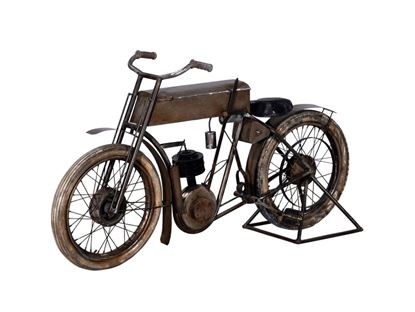 "Picture of 16.5"" X 66"" X 36"" Tan Historical Bicycle Bar"