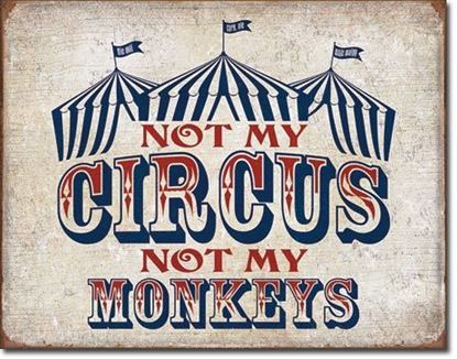 "Picture of ""NOT MY CIRCUS"""