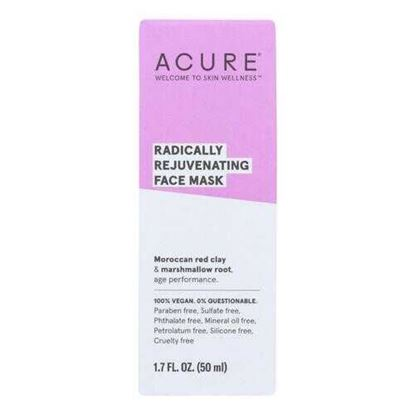Picture of Acure - Mask - Facial - Red Clay - 1.7 fl oz